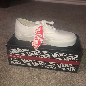 White Vans NEW
